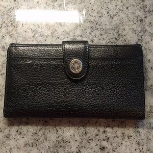 Liz Claiborne vintage leather wallet